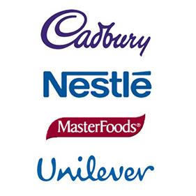 Exporters of Cadbury, Nestle, MasterFoods, Unilever