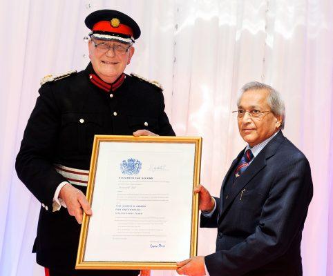 Queen's Award for Enterprise 2009 & 2010 to Dr. Rami Ranger