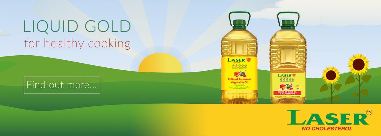 Laser Vegetable Oil Distributors UK