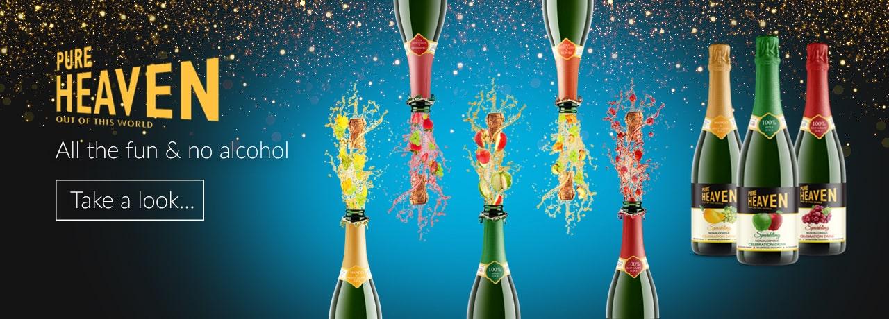 Pure Heaven Celebration Drink Exporters UK