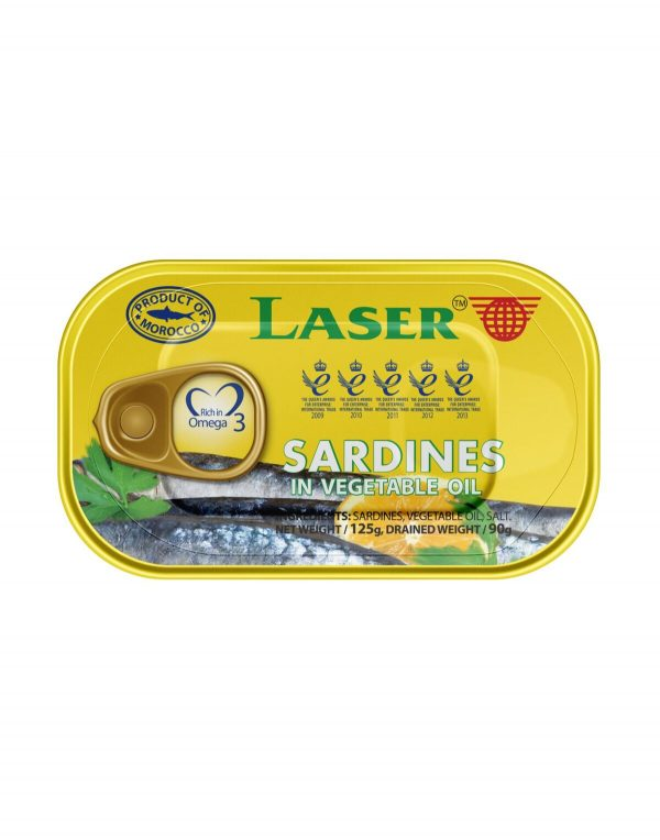 Laser Sardines in Vegetable Oil Wholesalers UK