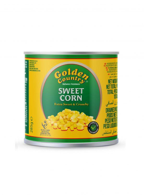 Golden Country Sweet Corn Wholesalers UK
