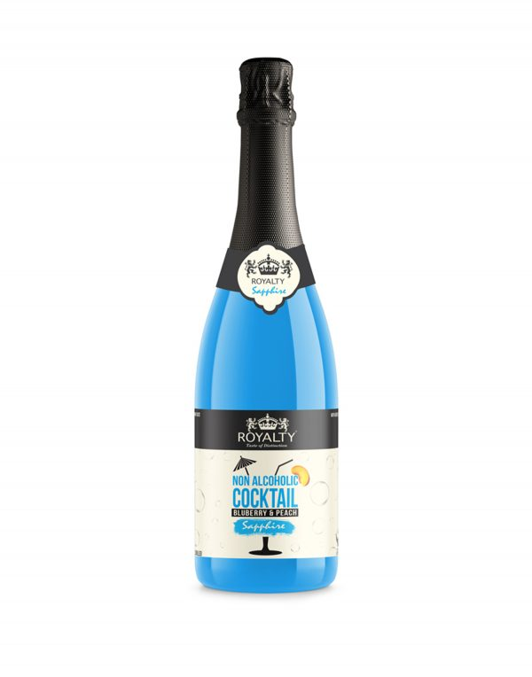 Royalty Non-Alcoholic Cocktail Blueberry & Peach Wholesalers UK