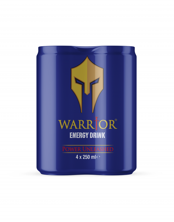 Warrior Energy Drink 4 Pack Original Wholesalers UK