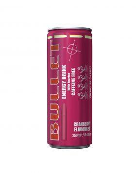 Bullet Cranberry Flavoured Energy Drink Wholesalers UK