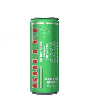 Bullet Energy Drink Caffeine Free Lemon & Mint Flavoured Wholesalers UK