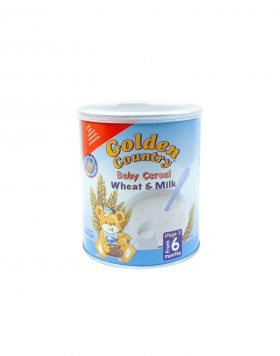 Golden Country Baby Cereal Wheat & Milk Wholesalers UK