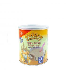 Golden Country Baby Cereal Honey Wheat & Milk Wholesalers UK