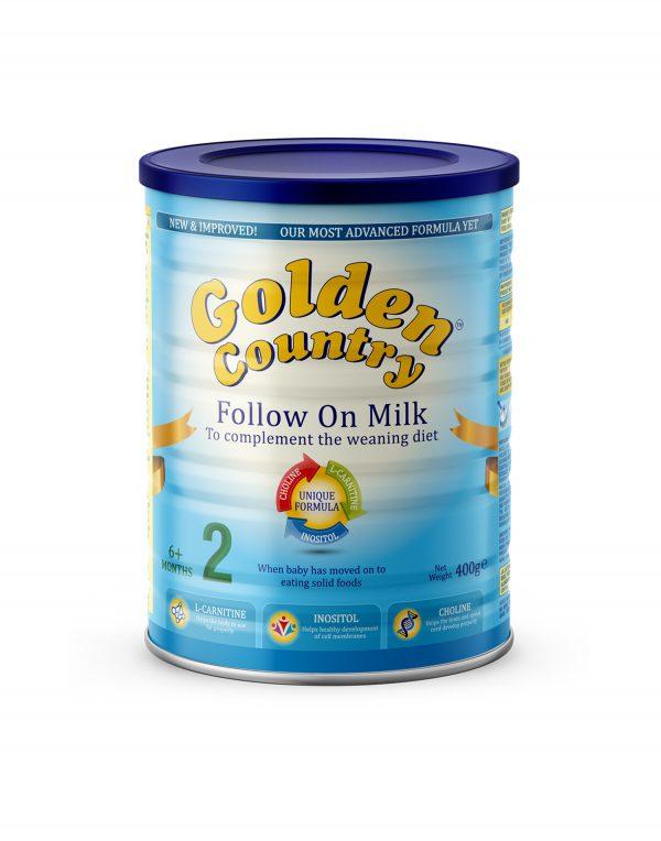 Golden Country Follow On Milk Powder Wholesalers UK