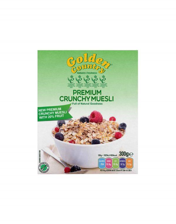 Golden Country Premium Crunchy Muesli Wholesalers UK