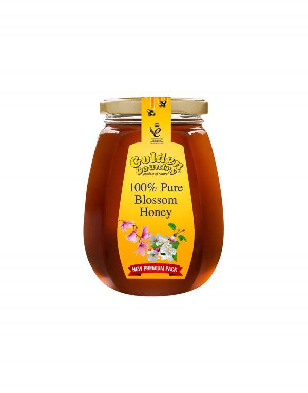 Golden Country 100% Pure Blossom Honey Jar Wholesalers UK