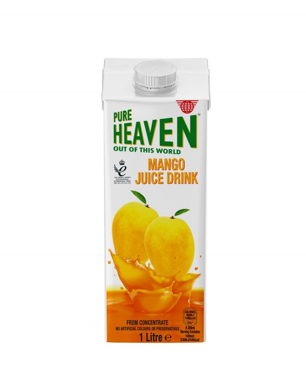 Pure Heaven Mango Juice Drink Wholesalers UK