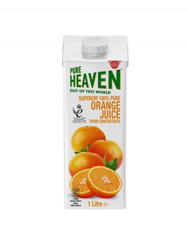 Pure Heaven Superior 100% Orange Juice Wholesalers UK