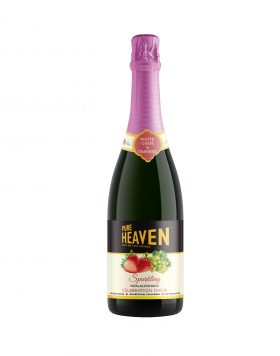 Pure Heaven Sparkling Non-Alcoholic Celebration Drink Strawberry Wholesalers UK