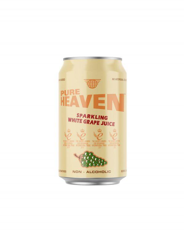 Pure Heaven Sparkling White Grape Juice Non-Alcoholic Wholesalers UK