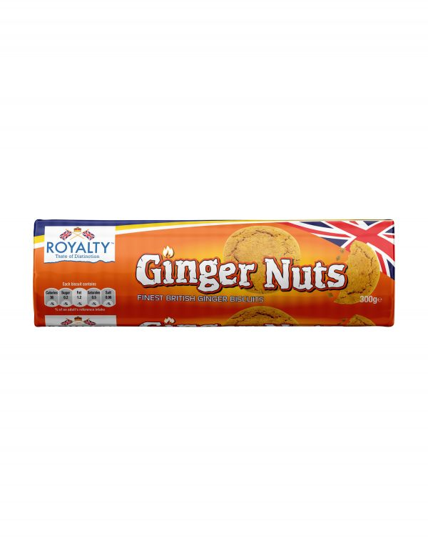 Royalty Ginger Nuts Biscuits Wholesalers UK