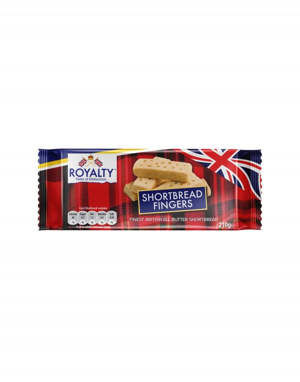 Royalty All Butter Shortbread Fingers Wholesalers UK