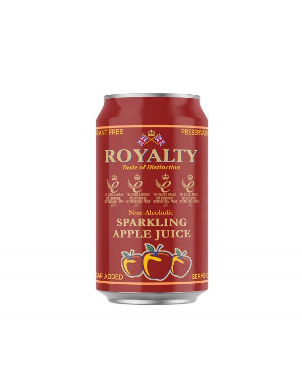 Royalty Non-Alcoholic Sparkling Apple Juice Wholesalers UK