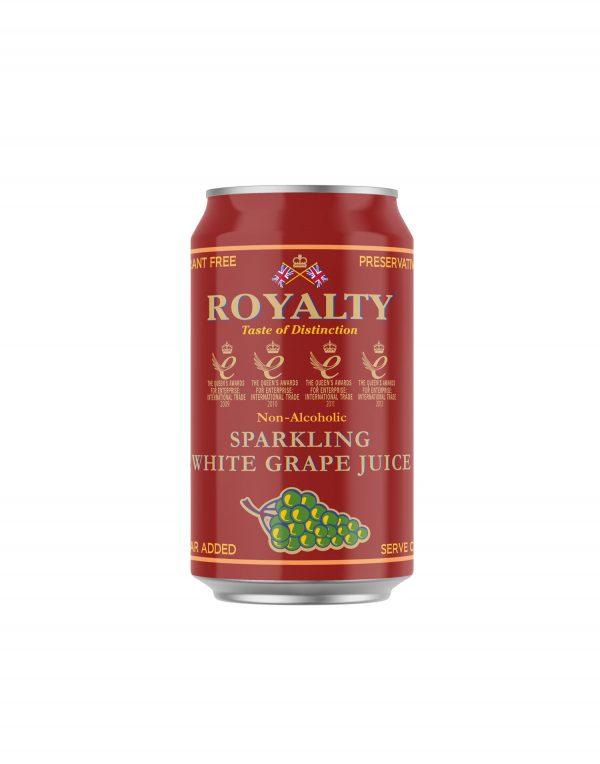 Royalty Non-Alcoholic Sparkling White Grape Juice Wholesalers UK