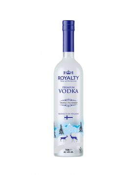 Royalty Premium Vodka Triple Filtered Wholesalers UK