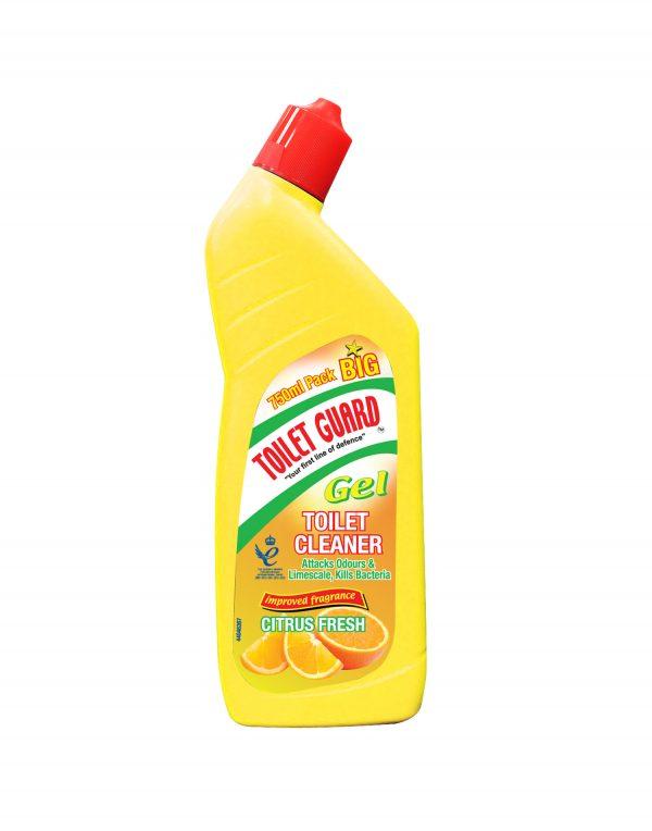 Toilet Guard Toilet Cleaner Gel Citrus Fresh Wholesalers UK