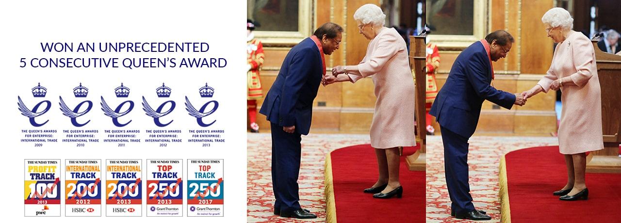 5 Consecutive Queen's Award