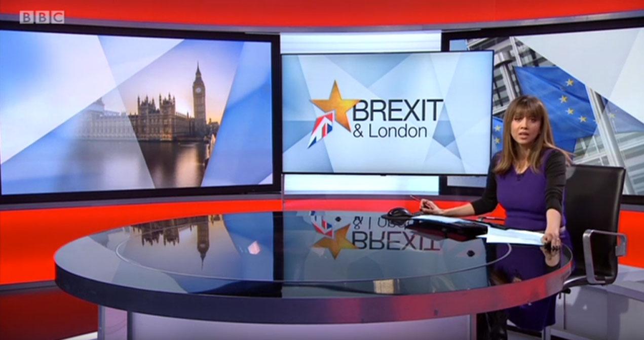 Sun Mark on BBC London News – Credit BBC London News