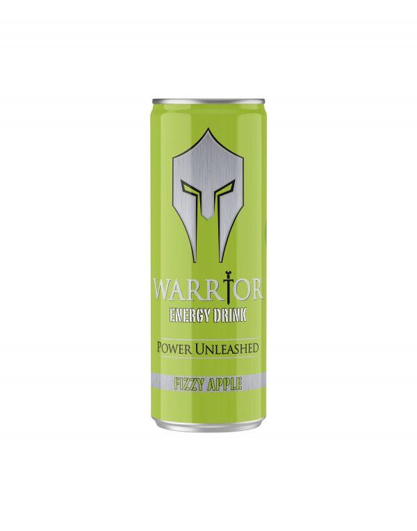 Warrior Energy Drink Fizzy Apple Wholesalers UK