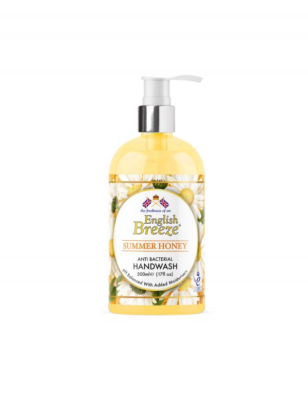 English Breeze Summer Honey Antibacterial Handwash Wholesalers UK