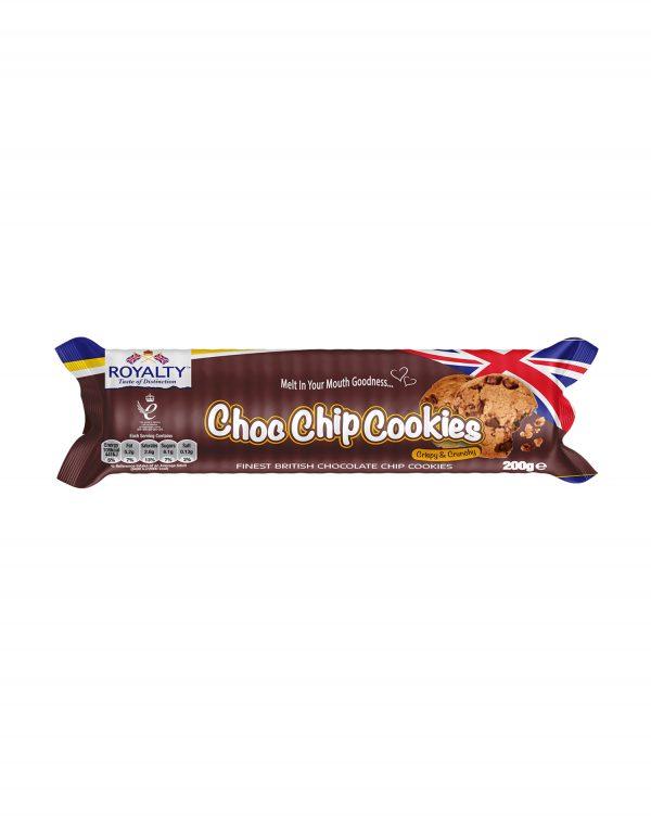 Royalty Choc Chip Cookies Biscuits Wholesalers UK