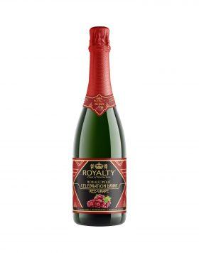 Royalty Non-Alcoholic Celebration Drink Red Grape Wholesalers UK